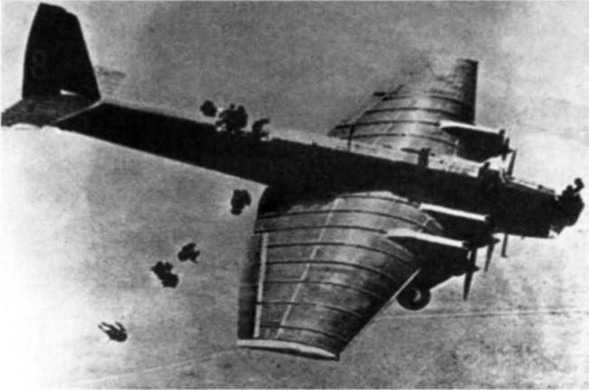 Тяжелые бомбардировщики в воздушно-десантных операциях