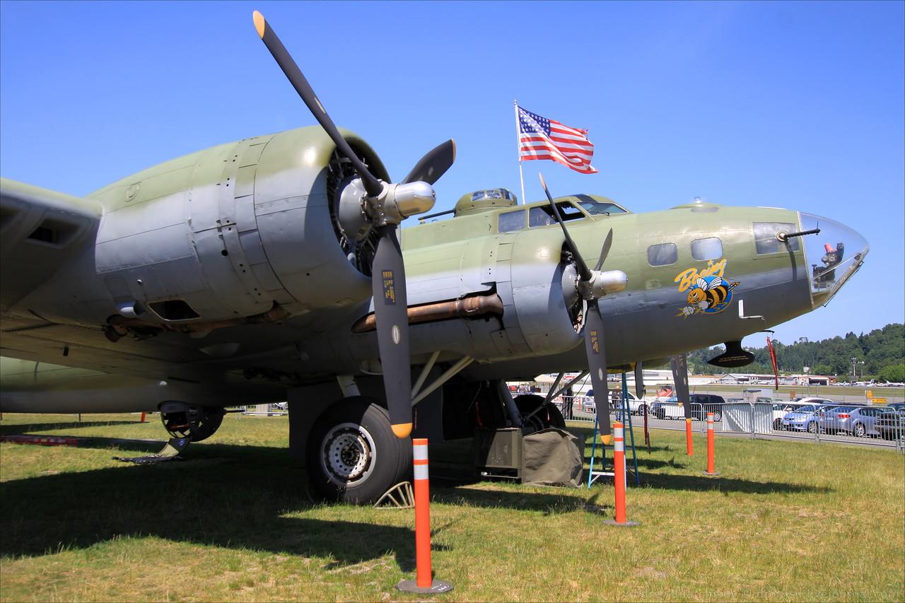 Пассажирский вариант самолета Боинг В-17