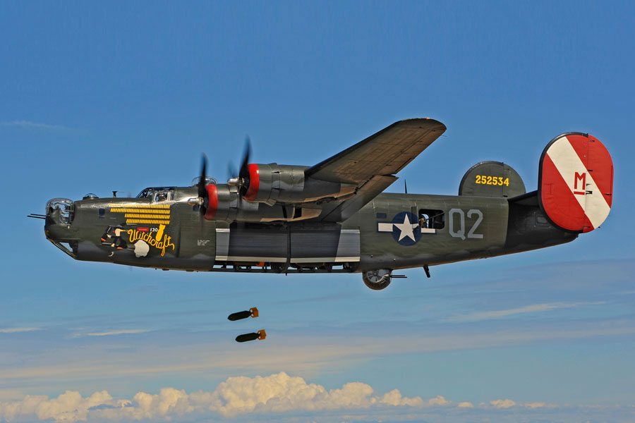 Бомбардировщик Консолидейтед B-24J