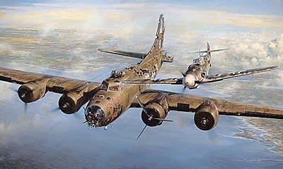 Хроника бомбардировщика Боинг «Летающая крепость»