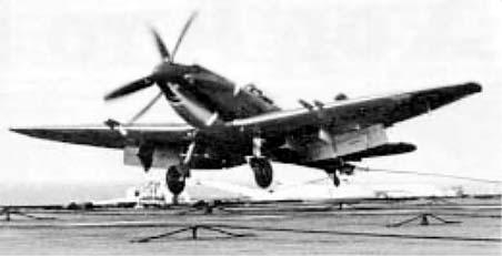 Английский палубный истребитель Супермарин «Сифайр» III